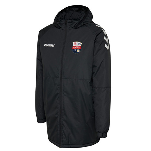 Montrose FC - Core Bench Jacket - Black - Hummel
