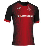 Football Shirts - Airdrieonians Away Jersey 19/20 - Red/Black - Joma