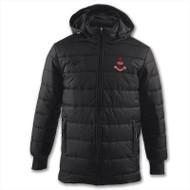 Kids Jackets - Airdrieonians Winter Coat - Black - Joma