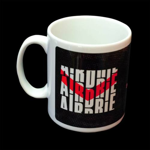 Airdrieonians Matrix Mug