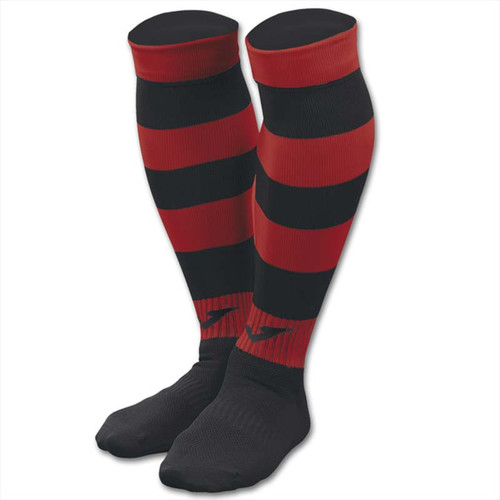 Airdrieonians - Kids Away Socks 2019/20 - Red/Black - Joma