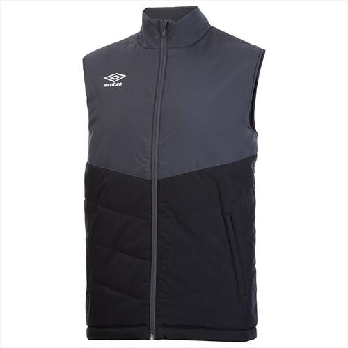 Umbro Teamwear - Sleeveless Poly Gilet - Black/Carbon - 90172U