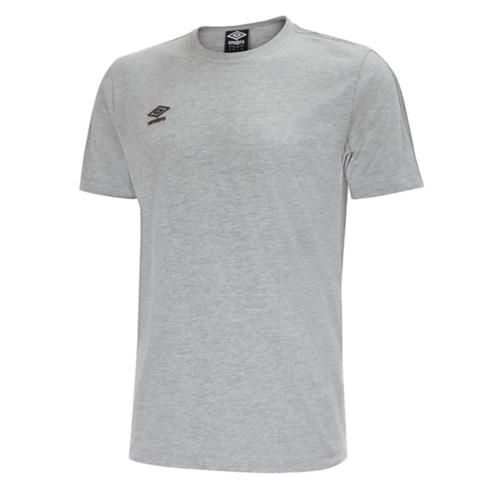 Umbro Teamwear - Kids Pro Taped Tee - Grey Marl - UMPFJ03