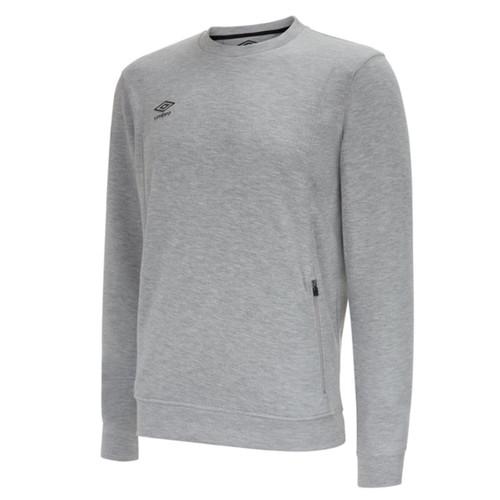 Umbro Teamwear - Kids Pro Fleece Sweatshirt - Grey Marl - UMPFJ01