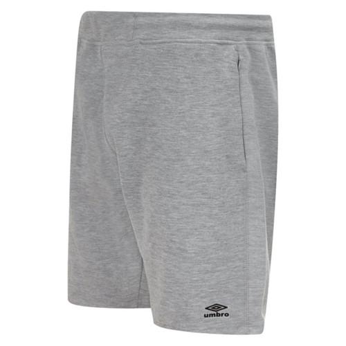 Umbro Teamwear - Kids Pro Fleece Shorts - Grey Marl - UMPFJ04