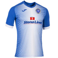 Stranraer FC - Home Shirt 2019/20 - Blue/White - Joma