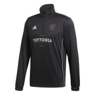 Gold & Gray Soccer Academy 1/4-Zip Sweatshirt