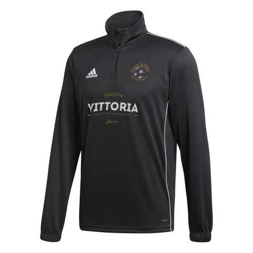 Gold & Gray Soccer Academy 1/4-Zip Sweatshirt