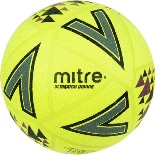 Indoor Footballs - mitre Ultimatch Indoor Ball - Yellow