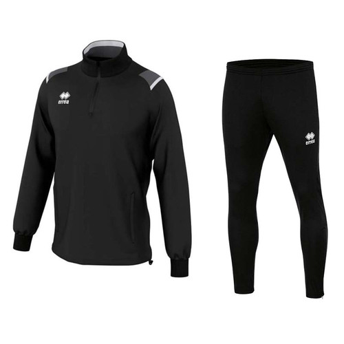 Training Sets - Kids Errea Lars & Flann Set - Black - Teamwear