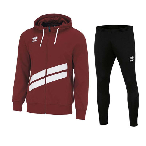 Training Sets - Kids Errea Jill & Flann Set - Maroon - Teamwear