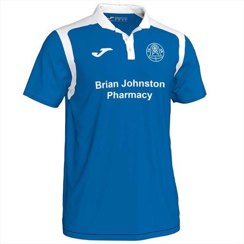 Dundonald Bluebell Home Shirt
