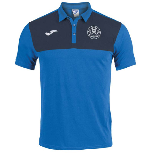 Dundonald Bluebell Cotton Polo Shirt