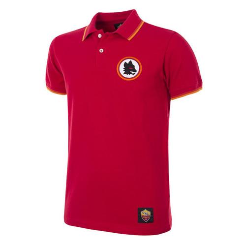 A.S Roma Retro Polo Shirt