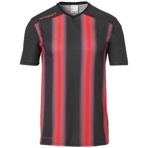 Uhlsport Stripe 2.0 Kids Shirt - Black/Red - 1002205 - Teamwear