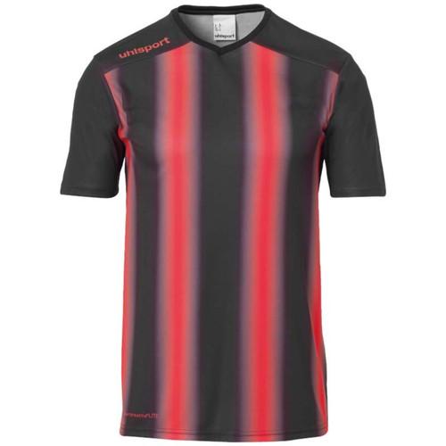 Uhlsport Stripe 2.0 Kids Shirt - Black/Red - 1002205 - Teamwear
