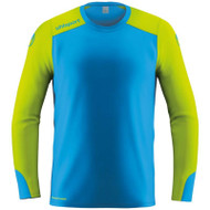 Uhlsport Tower Goalkeeper Shirt - 100561208 - Radar Blue/Fluo Yellow
