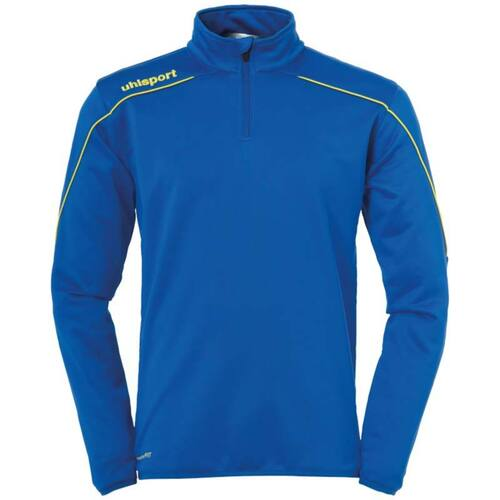 Uhlsport Stream 22 Quarter Zip - Azurblue/Lime Yellow - 1002203 - Teamwear