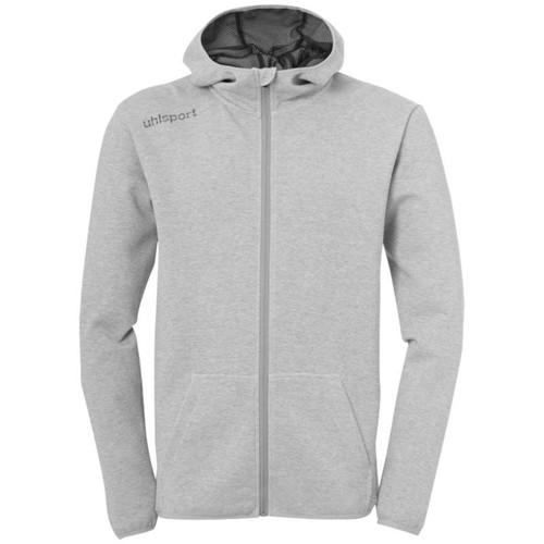 Uhlsport Essential Hoodie - Dark Grey Melange - 1005196 - Teamwear