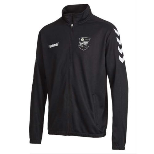 Montrose FC - Tracksuit Jacket - Black - Hummel
