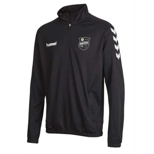 Montrose FC - 1/4-Zip Sweatshirt - Black - Hummel