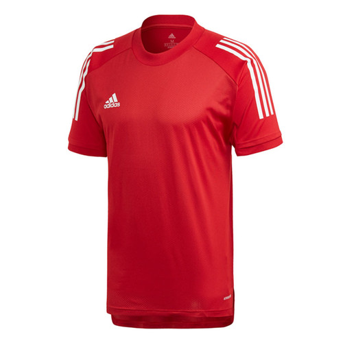 adidas Condivo 20 Training T-Shirt - Team Power Red/White - Teamwear