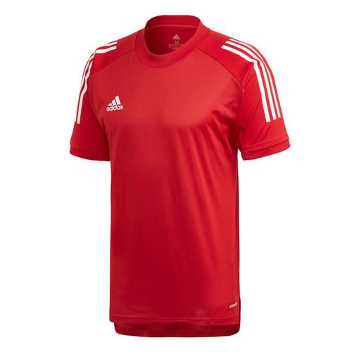 adidas Condivo 20 Training T-Shirt - Team Power Red/White - Teamwear