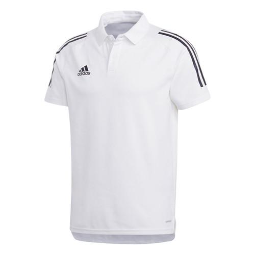 adidas Condivo 20 Polo Shirt - White/Black - Teamwear