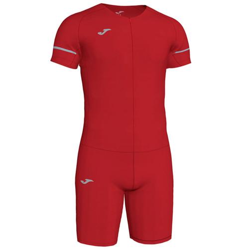 Joma Race Running Body Suit - Red - Athletics Teamwear