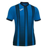 Football Shirts - Joma Tiger II Jersey - Royal/Black - Teamwear