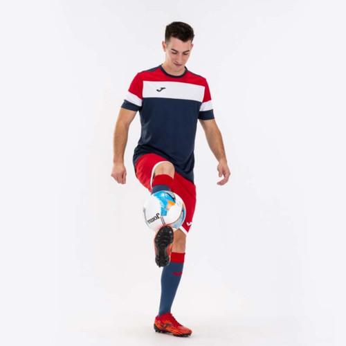 Football Shirts - Joma Crew IV Jersey (on model) - Dark Navy - Teamwear