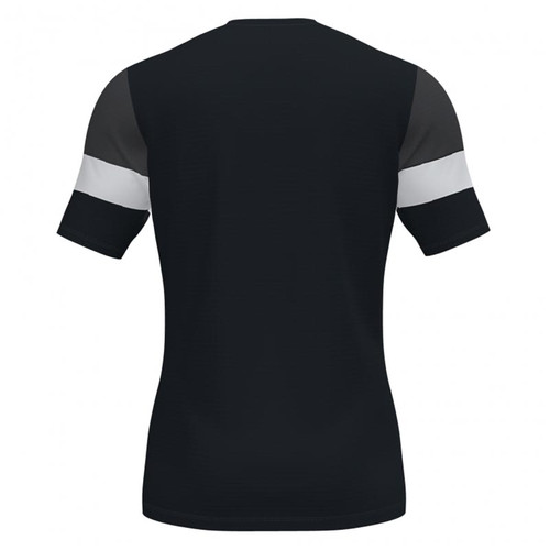 Training T-Shirts - Joma Crew IV Cotton (rear) - Black/White - Teamwear