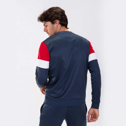 Football Sweatshirts - Joma Crew IV Top (on model) - Dark Navy - Teamwear
