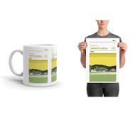 BSC Glasgow Stadium Print & Mug (Free Shipping)