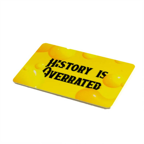 BSC Glasgow History Is Overrated Fridge Magnet