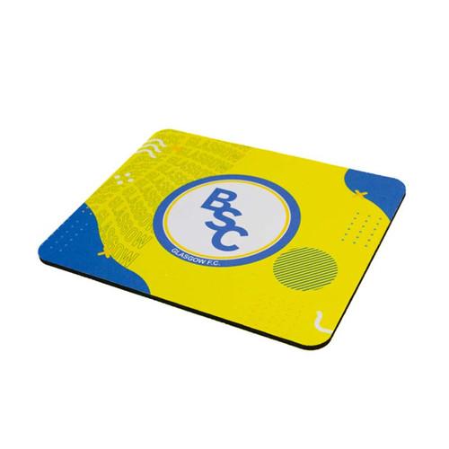 BSC Glasgow Crest Mouse Mat