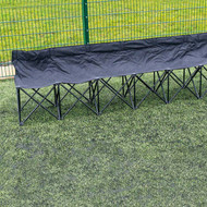 Precision 6 Seater Folding Subs Bench