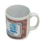 St Cuthbert Wanderers Street Sign Mug