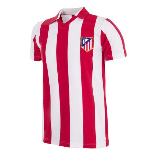 Atletico Madrid Retro Home Shirt 1985/86