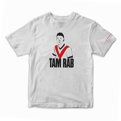 "Airdrieonians Thomas Robert ""Tam Rab"" T-Shirt"
