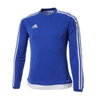 adidas Estro 15 Royal Long Sleeve Football Shirt (Clearance)