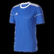 adidas Squadra 17 Royal Short Sleeve Football Shirt (Clearance)
