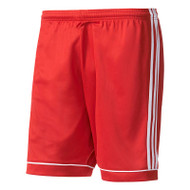 adidas Squadra 17 Red Football Shorts (Clearance)