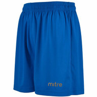 Mitre Metric II Kids Royal Football Shorts (Clearance)