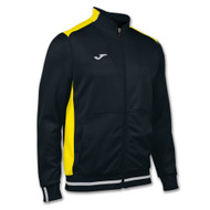Joma Campus II Kids Black/Yellow Tracksuit Jacket (Clearance)