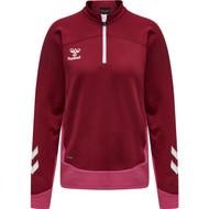 Hummel Lead Poly Women's Half Zip Sweatshirt