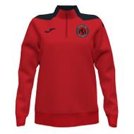 North Berwick FC Girls 1/4-Zip Sweatshirt