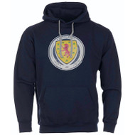 Official Scotland Crest Hoodie (Navy)