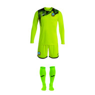 Dunbar Utd Colts Goalkeeper Set - Yellow Fluor/Black