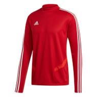 Football Sweatshirts - adidas Tiro 19 Training Top - Power Red/White